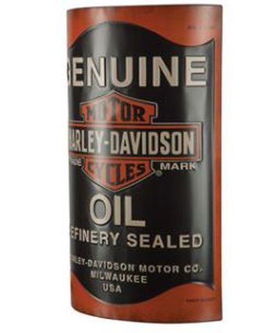 Harley-Davidson Large Metal Sign Oil Can