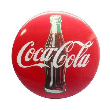 Coca-Cola Button 3D Sign in resin  16