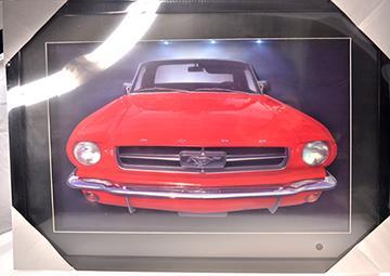 Frame 3D LED - Mustang