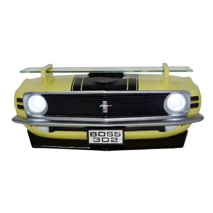 3-D wall shelf whit LED - 1970 MUSTANG BOSS 302 (yellow)