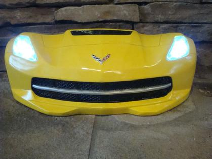 3D wall decor with LED - 2015 CORVETTE
