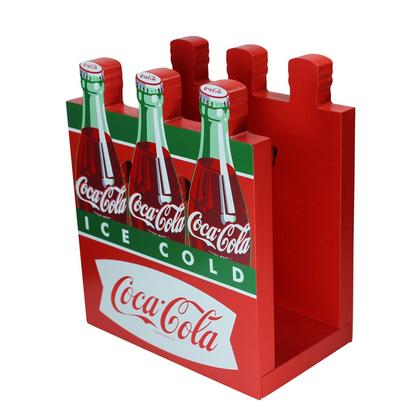 Coca-Cola Fishtail Design Six-Pack Napkin Holder