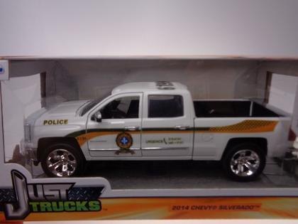 Chevrolet Silverado 2014 Police