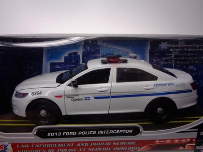 Ford Taurus Interceptor 2013