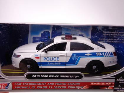 Ford Taurus Police Interceptor 2013