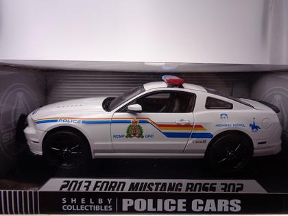 Ford Mustang Boss 302 2013 Police GRC / RCMP
