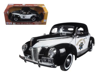 Ford Deluxe 1940 Police