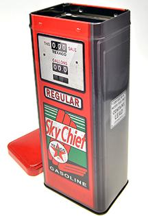 Metal Cane Fuel pump  SKY CHIF TEXACO