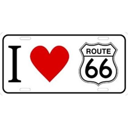 I LOVE ROUTE 66