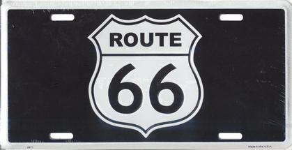 ROUTE 66 - BLACK