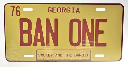 BAN ONE - GEORGIA - SMOKEY AND THE BANDIT