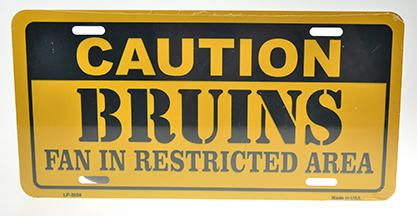 BRUINS RESTRICTED AREA