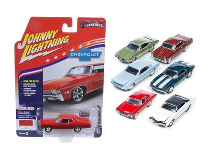 1/64 JOHNNY LIGHTNING Muscle Cars USA RELEASE 2 SET C