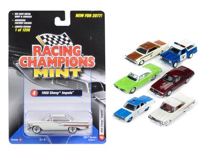 1/64 RACING CHAMPIONS MINT 2017 RELEASE 1 SET D