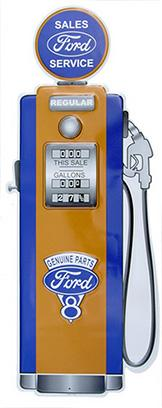 Ford Gas Pump  Metal Sign 11