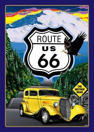 Route 66 - The Mother Road 16 3/4