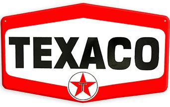 Texaco  METAL SIGN 14.5