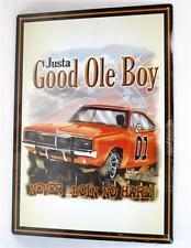 Justa Good Ole Boy - Never Doin No Harm 16 3/4