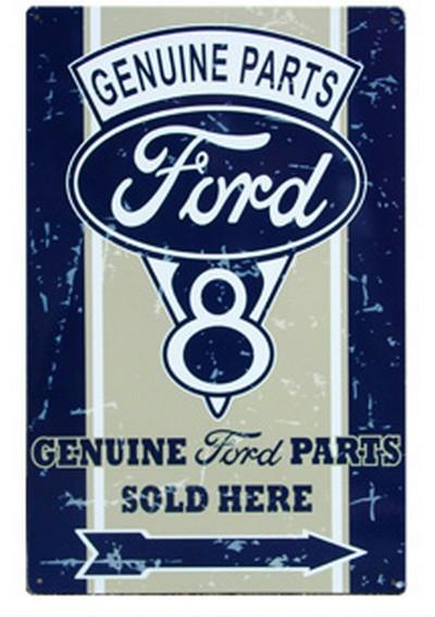 Ford Genuine Parts  Metal Sign