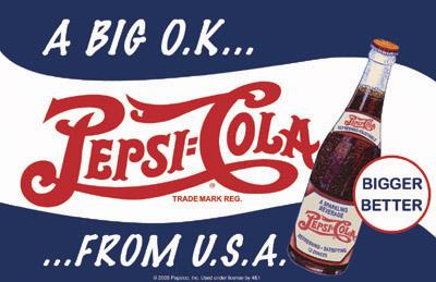 Pepsi Cola - A Big OK from the Usa - 17