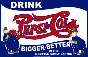 Drink a Pepsi Cola Bigger Better 17
