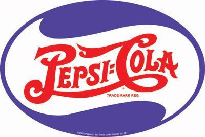 Signe ovale de Pepsi  12