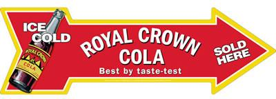 FLÈCHE ROYAL CROWN COLA  8.75 X 27 INCH