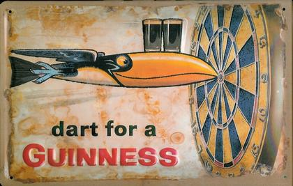 DART FOR A GUINNESS 11