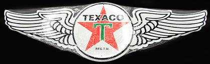 TEXACO - LOGO WITH WINGS 23.5 X 7