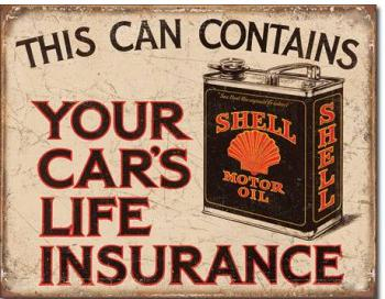 SHELL CARS INSURANCE 12.5X16
