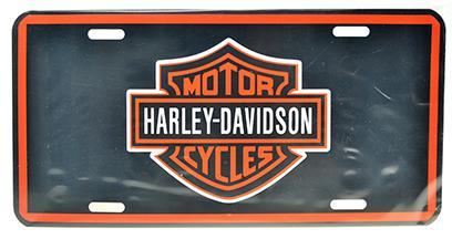 CAR PLATE HARLEY DAVIDSON