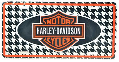 HARLEY DAVIDSON CAR PLATE