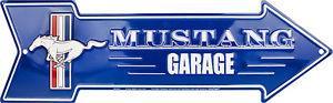 MUSTANG GARAGE - Metal sign 20 '