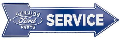FORD SERVICE - Metal sign 20 '