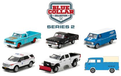 Blue Collar Collection Series 2 1:64 Set