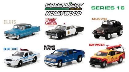 Hollywood Series 16 1:64 Set