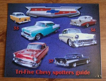 Tri- Five Chevy spotters guide