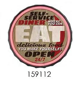 SELF SERVICE DINER  **12