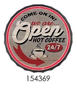OPEN HOT COFFEE  ** 12