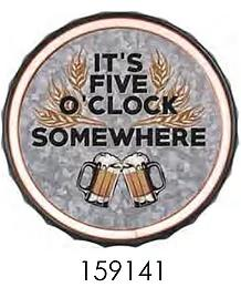 IT'S FIVE O'CLOCK SOMWHERE  ** 12