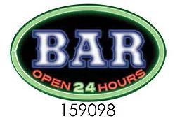 BAR OPEN 24 HOURS ** 16