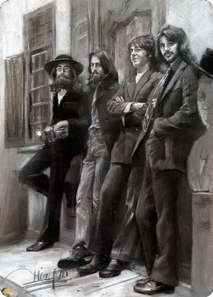 The Beatles 8'x12'