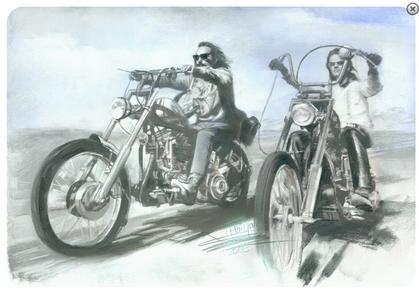 Rider  12 x 8'  metal sign