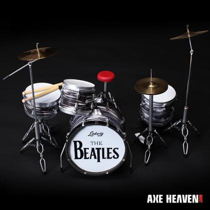 Ringo Starr Classic Oyster Miniature Drum Set Replica Collectible
