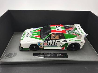 Lancia Beta Montecarlo Turbo Passo Corto Alitalia N 576 Giro D'Italia - Day Version - 1979 G.Villeneuve - W.Rohrl - C.Geistdorfer