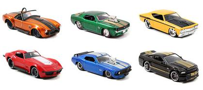 Big Time Muscle - Wave 18 1:64 set