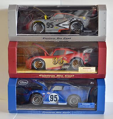Disney-Pixar Collection of 3 cars