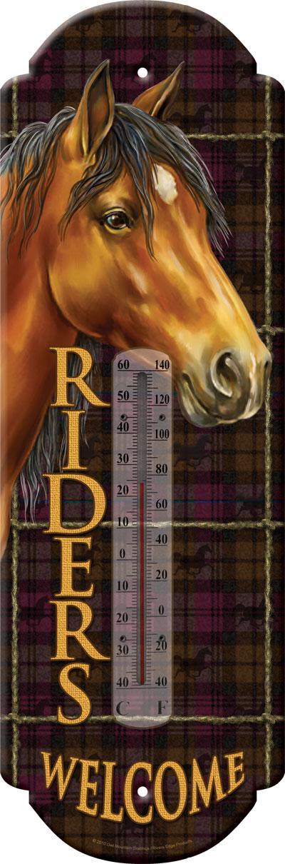thermometer /  Riders Welcome 5'x17'