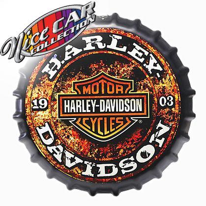 Bottle Cap Harley-Davidson 1903  16'Dia.