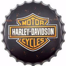 Bottle Cap  Harley-Davidson  16'Dia. #E15212